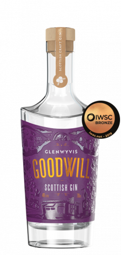 GoodWill Scottish Gin 70cl